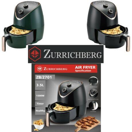 Zürrichberg ZBP2701 olaj nélküli fritőz 3,5L 1.500W