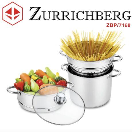 Zürrichberg ZBP7168 4 részes tésztafőző edény szett 24 cm