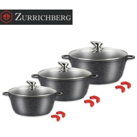 Zürrichberg ZBP7172 6 részes márvány bevonatú edénykészlet