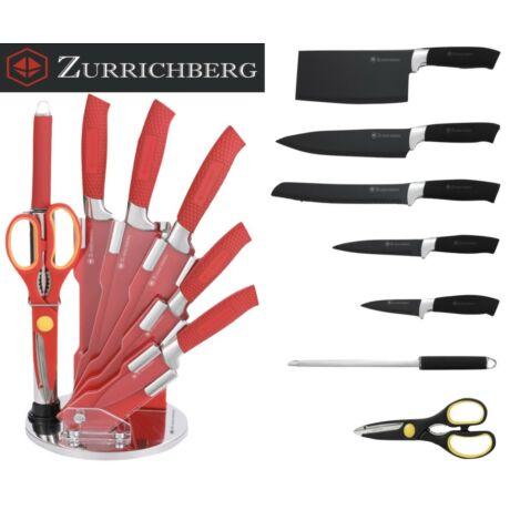 Zürrichberg ZBP7404 8 részes állványos késkészlet
