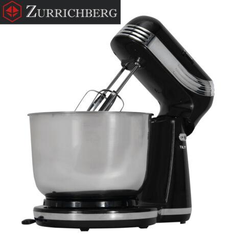 Zürrichberg ZBP7644 fekete 3L konyhai dagasztógép 500W, 6 sebességgel és 2 fejjel
